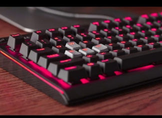 photo clavier gamer mecanique