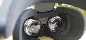 photo des nouvelles lentilles de l'oculus rift s