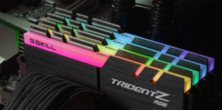 photo de ram rgb pour pc gamer